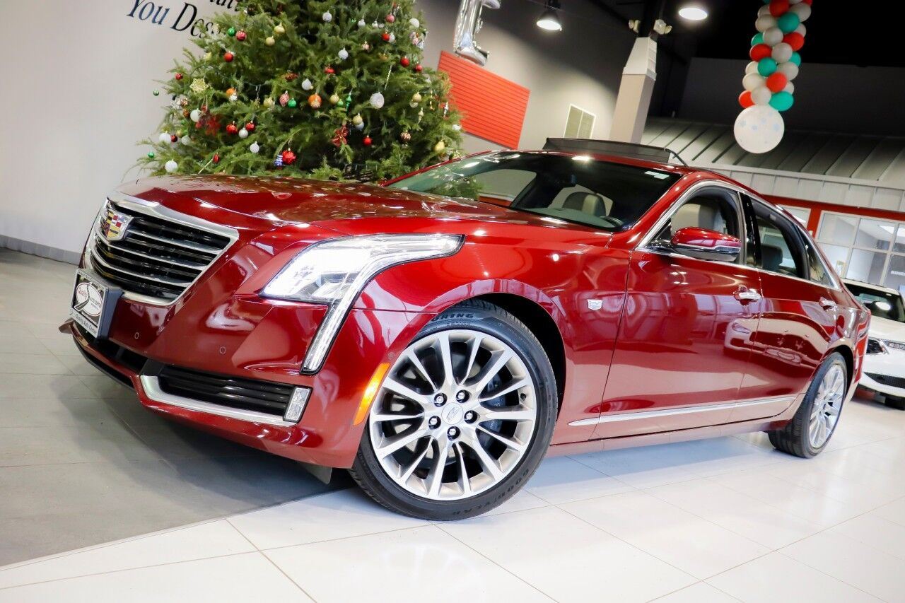 2017 Cadillac CT6 Luxury AWD Vision And Comfort Package Sunroof Navigation 1 Owner Springfield NJ