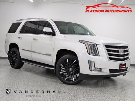 2017_Cadillac_Escalade_2 Owner HUD Nav Back Up Rear Entertainment Bucket Seats Boards Loaded_ Hickory Hills IL