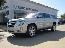 2017_Cadillac_Escalade_ESV 2WD Luxury  NAVIGATION, BLIND SPOT MONITOR, DVD ENTERTAINMENT SYSTEM,SUNROOF,HEATED/COOLED SEATS_ Plano TX