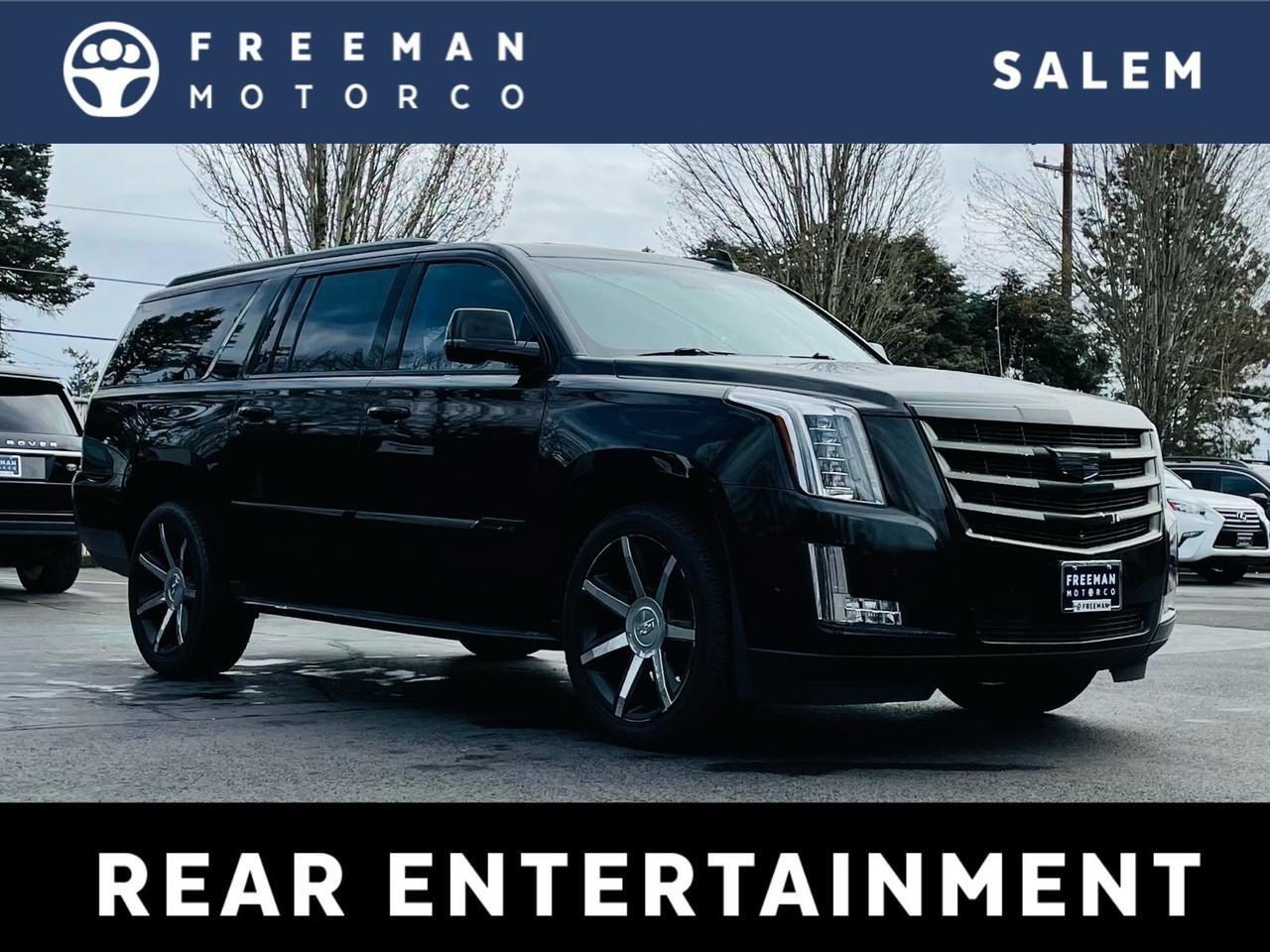 2017 Cadillac Escalade ESV 4WD Luxury Rear Seat Entertainment 8-Passenger Salem OR