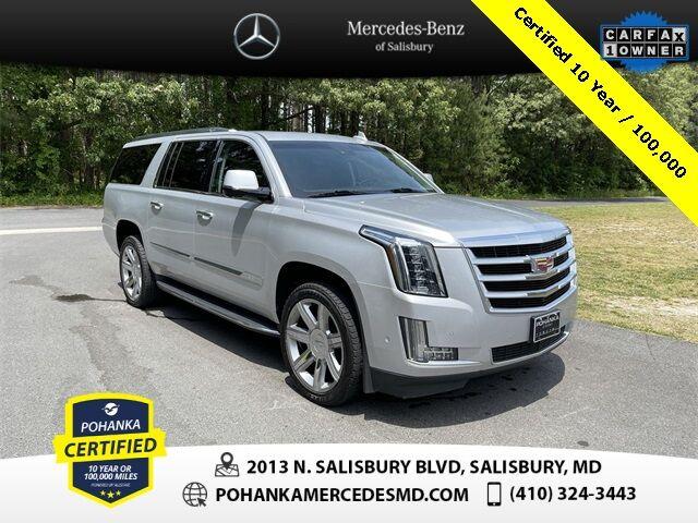 2017 Cadillac Escalade ESV Luxury 4WD ** Pohanka Certified 10 Year / 100,000  ** Salisbury MD