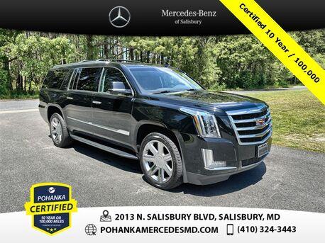 2017_Cadillac_Escalade ESV_Luxury 4WD ** Pohanka Certifieid 10 Year / 100,000  **_ Salisbury MD