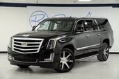 2017 Cadillac Escalade ESV Luxury Captain Seating Carfax Certified One Owner GM Executive