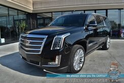 2017_Cadillac_Escalade ESV_Platinum / 4X4 / Auto Start / Heated & Cooled Leather Seats / Heated Steering Wheel / Bose / Sunroof / Navigation / Lane Departure & Blind Spot / Rear Entertainment / HUD / 3rd Row / Seats 7 / Tow Pkg_ Anchorage AK
