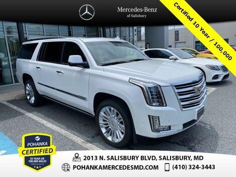 2017_Cadillac_Escalade ESV_Platinum Edition ** Pohanka Certified 10 year / 100,000 **_ Salisbury MD