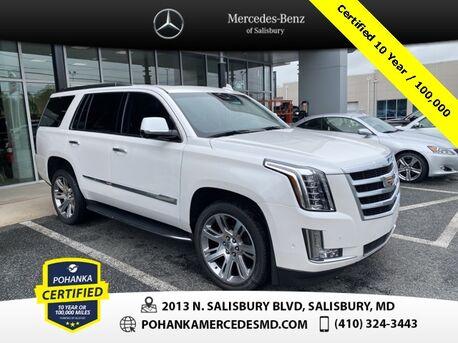 2017_Cadillac_Escalade_Luxury 4WD ** Pohanka Certified 10 year / 100,000 **_ Salisbury MD
