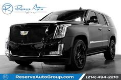2017 Cadillac Escalade Platinum 4WD Moonroof Captain Seating