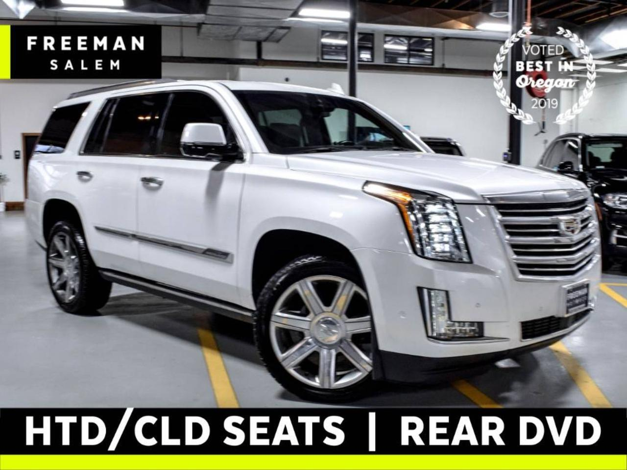 2017 Cadillac Escalade Platinum Just 23K Miles Rear DVD Htd/Cooled Seats