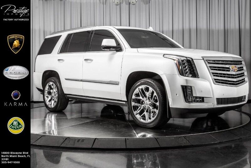 2017_Cadillac_Escalade_Platinum_ North Miami Beach FL