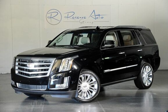 2017_Cadillac_Escalade_Premium Captains Power Boards Platinum Wheels_ The Colony TX