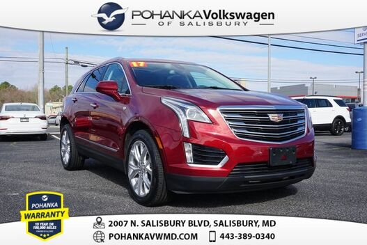 2017_Cadillac_XT5_Luxury ** CLEAN CARFAX ** LEATHER NAVI SUNROOF **_ Salisbury MD