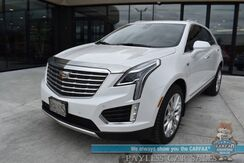 2017_Cadillac_XT5_Platinum / AWD / Auto Start / Heated & Cooled Leather Seats / Heated Steering Wheel / Panoramic Sunroof / Navigation / HUD / Lane Departure & Blind Spot Alert / Bluetooth / Back Up Camera / 26 MPG / 1-Owner_ Anchorage AK