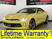 Chevrolet CAMARO CONVERTIBLE 1LT PKG RS PKG APPLE CARPLAY ANDROID AUTO CAPABILITY REAR CAMERA 2017