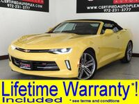 Chevrolet CAMARO CONVERTIBLE 1LT PKG RS PKG NAVIGATION VIA APPLE CARPLAY ANDROID AUTO CAPABILITY 2017