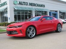 2017_Chevrolet_Camaro_1LT Coupe SUNROOF, BLUETOOTH CONNECTIVITY, BACKUP CAMERA, PUSH BUTTON START_ Plano TX