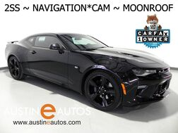 2017_Chevrolet_Camaro 2SS_*NAVIGATION, HEADS-UP DISPLAY, BACKUP-CAM, BLIND SPOT ALERT, MOONROOF, PERFORMANCE EXHAUST, MAGNETIC RIDE_ Round Rock TX