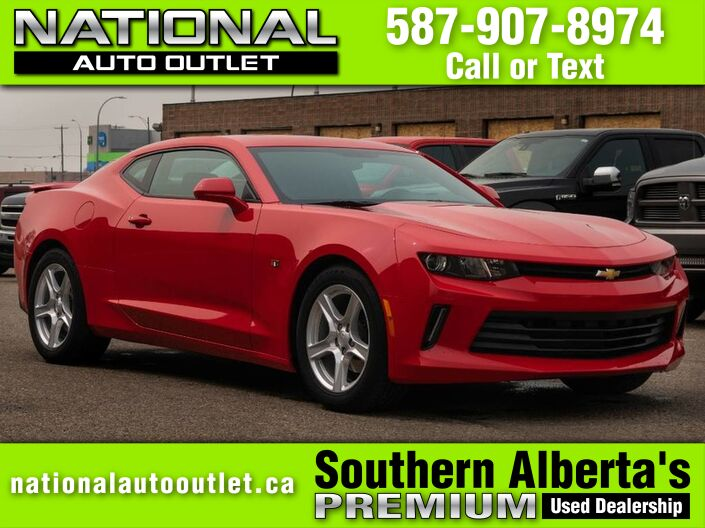 2017 Chevrolet Camaro LT - 2.0 TURBO CHARGED- AUTOMATIC - SUNROOF Lethbridge AB