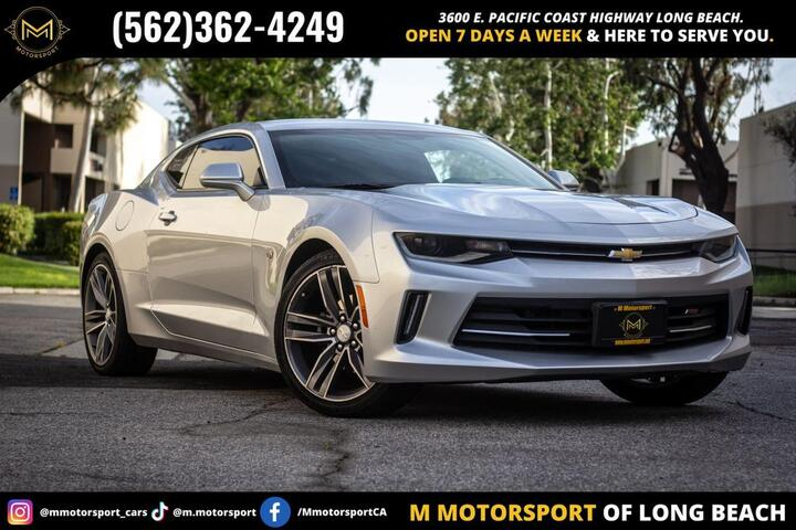 2017 Chevrolet Camaro LT Coupe 2D Long Beach CA