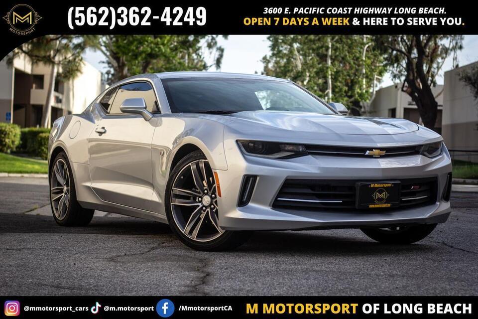 2017_Chevrolet_Camaro_LT Coupe 2D_ Long Beach CA