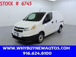 2017 Chevrolet City Express ~ Dual Sliding Doors ~ Only 190 Miles!