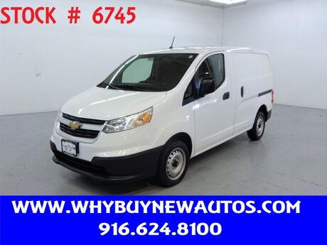 2017 Chevrolet City Express ~ Dual Sliding Doors ~ Only 190 Miles! Rocklin CA