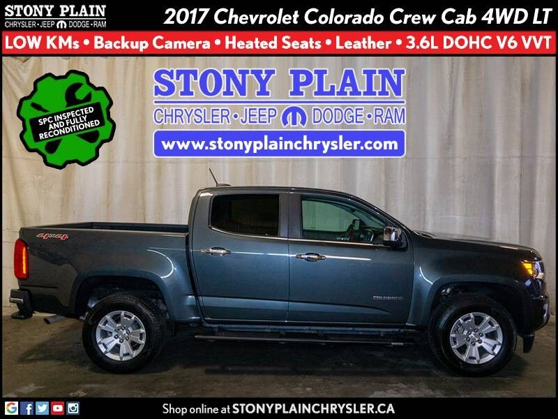 2017 Chevrolet Colorado 4WD LT Stony Plain AB