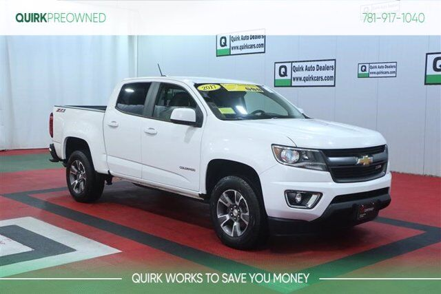 2017 Chevrolet Colorado 4WD Z71 4x4 w/ Heated Seats, Remote Start, Back-Up Camera Braintree MA