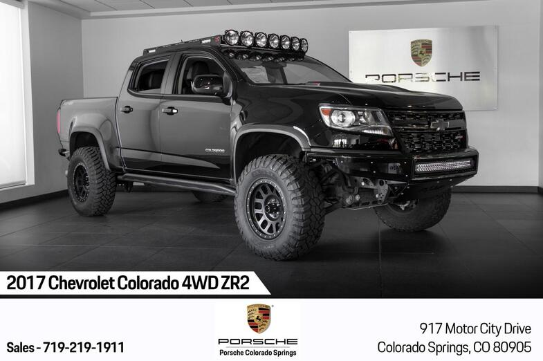 2017 Chevrolet Colorado 4WD ZR2 Colorado Springs CO