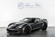 2017 Chevrolet Corvette Grand Sport 1LT Automatic Paddle Shift Heritage Carbon Pkg