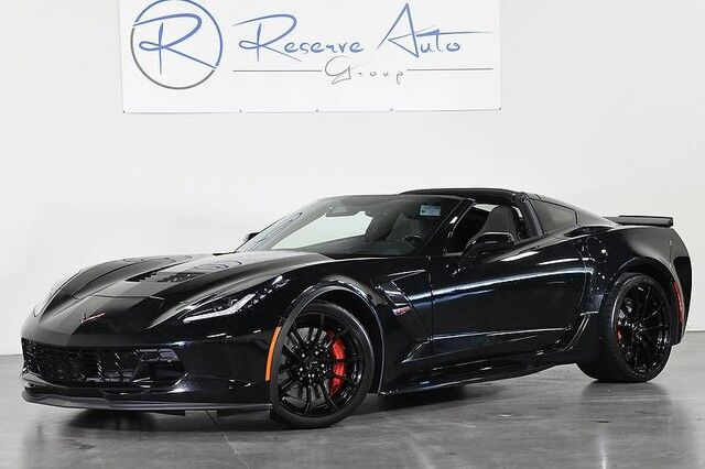 2017 Chevrolet Corvette Grand Sport 3LT Automatic Carbon Flash Pkg Red Calipers The Colony TX
