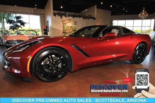 2017 Chevrolet Corvette Stingray Coupe 1LT 2D C7 Scottsdale AZ