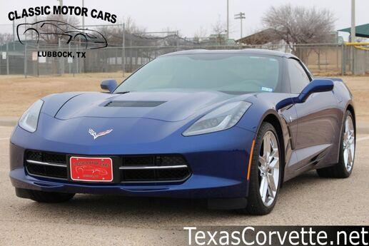 2017 Chevrolet Corvette Z51 2LT Lubbock TX