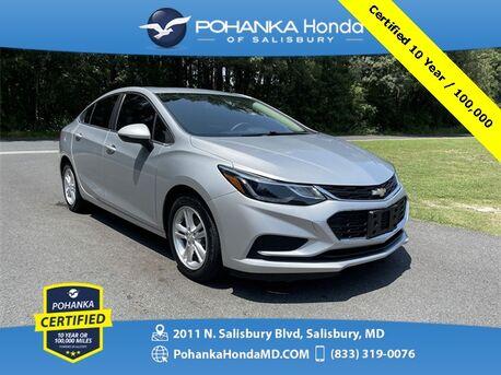 2017_Chevrolet_Cruze_LT ** Pohanka Certified 10 Year / 100,000 **_ Salisbury MD