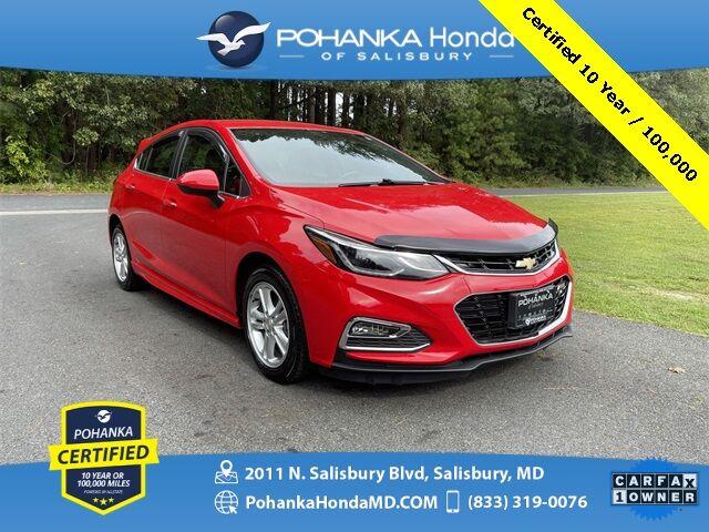 2017 Chevrolet Cruze LT ** Pohanka Certified 10 Year / 100,000** Salisbury MD