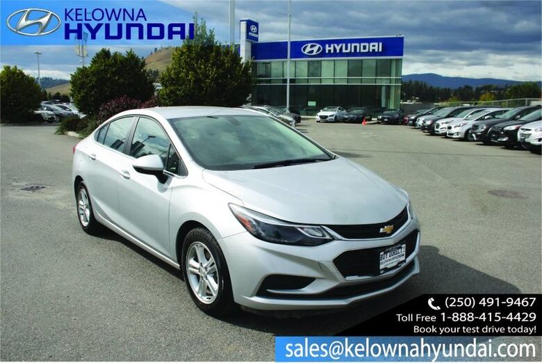 2017 Chevrolet Cruze LT Bluetooth/apple & android car play Penticton BC