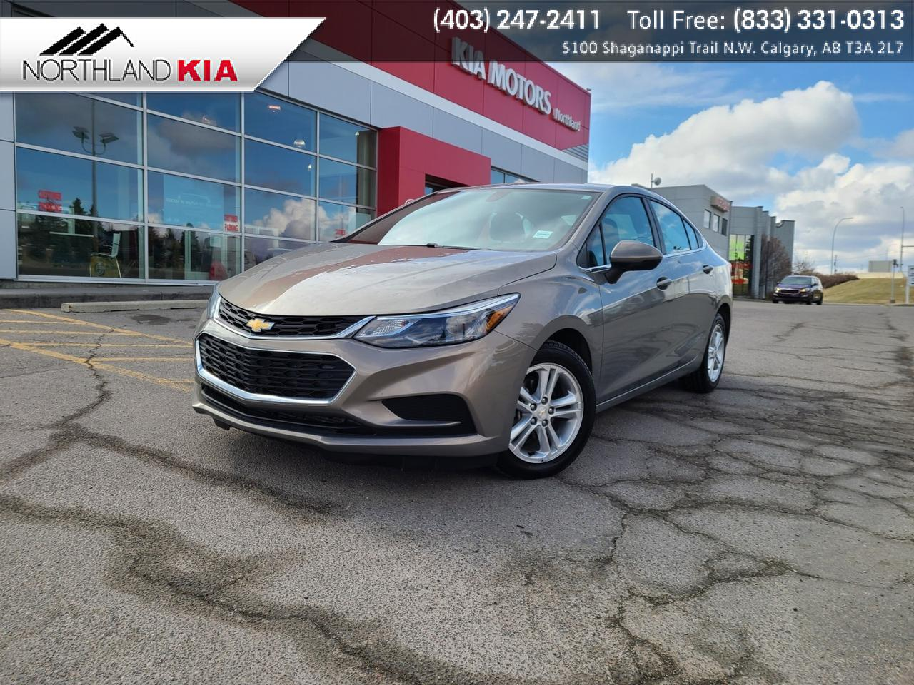 2017 Chevrolet Cruze LT HEATED SEATS, BACKUP CAMERA Calgary AB