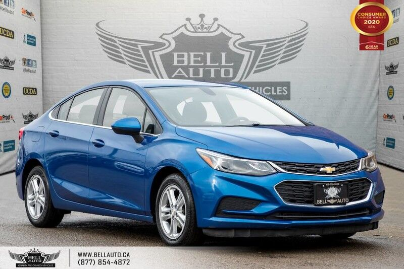 2017 Chevrolet Cruze LT, REAR CAM, SUNROOF, BLUETOOTH, PUSH START