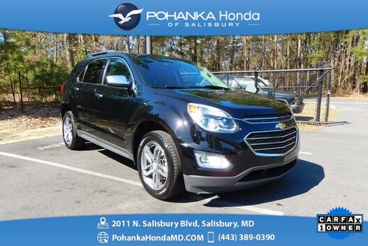 2017_Chevrolet_Equinox_Premier AWD ** NAVI & REAR VIEW CAMERA ** 1 Owner **_ Salisbury MD