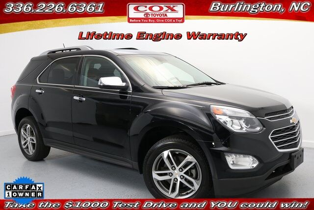 2017 Chevrolet Equinox Premier Burlington NC