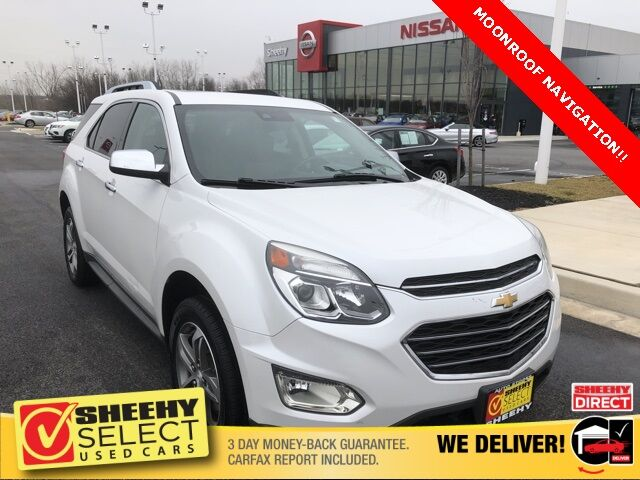 2017 Chevrolet Equinox Premier White Marsh MD