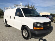 2017_Chevrolet_Express 2500 Cargo Van w/ Ladder Rack & Bins__ Ashland VA