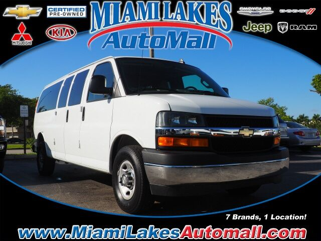 2017 Chevrolet Express 3500 LT Miami Lakes FL