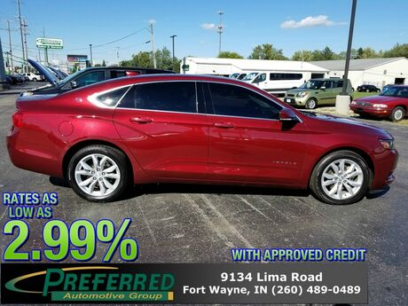 2017 Chevrolet Impala LT Fort Wayne Auburn and Kendallville IN