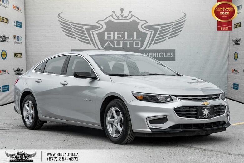 2017 Chevrolet Malibu LS, REAR CAM, PUSH START, BLUETOOTH, PWR MIRROR Toronto ON