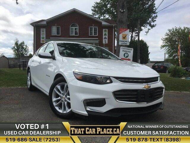 2017 Chevrolet Malibu LT-$65Wk-Backup-NewTires-PwrGroup-WifiCapable-Apple&AndroidCarplay London ON