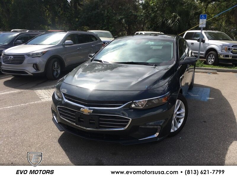 2017 Chevrolet Malibu LT CONV PKG. TECH PKG. LEATHER PKG. BOSE SOUND. WIRELESS CHARGING Jacksonville FL