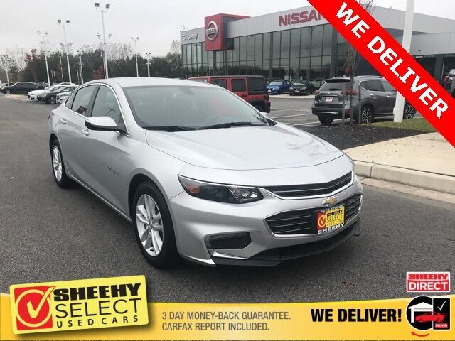 2017 Chevrolet Malibu LT White Marsh MD