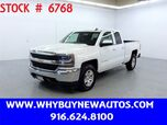 2017 Chevrolet Silverado 1500 ~ 4x4 ~ Double Cab ~ Only 57K Miles!