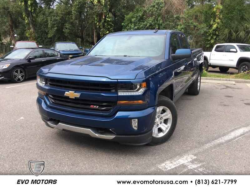 2017 Chevrolet Silverado 1500 2LT V8 4X4 W/ Z71 OFF ROAD AND APPEARANCE PKG Seffner FL
