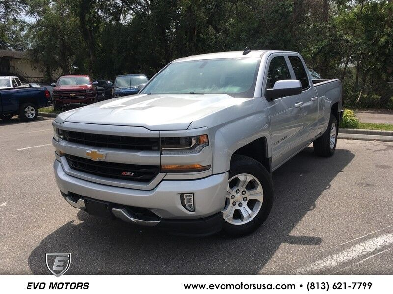 2017 Chevrolet Silverado 1500 2LT V8 4X4 W/ Z71 OFF ROAD PKG. LEATHER PKG Seffner FL